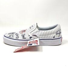 Vans MLB Classic Slip On New York Yankees Women's 5 Kids 3.5 Skate Shoes New