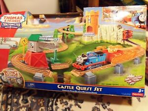 Complete Thomas Train Trackmaster Castle Quest Motorized Set W/ Extras IN BOX