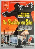 P090 - Original Kinoplakat - Edgar Wallace - DER BUCKLIGE VON SOHO #3