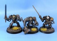 Terminators - Grey Knights - Painted - Warhammer 40k # 2J96