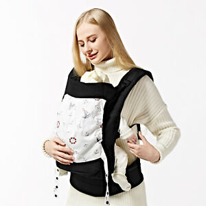 GAGAKU Infant Baby Carrier With Hip Seat Stool Adjustable Wrap Sling Backpack