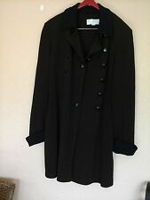 ST. JOHN COLLECTION BY MARIE GRAY. BROWN LONG JACKET SIZE 8