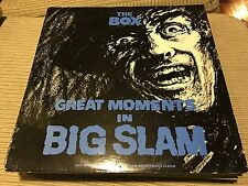 "THE BOX - GREAT MOMENTS IN BIG SLAM 12"" LP UK CHRYSALIS 84 - SYNTH WAVE"