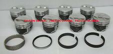 Speed Pro TRW H660CP 030 pistons + MOLY rings 327 Chevy set/8 Camaro Chevelle