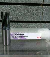 YG-1 X-POWER | CARBIDE Roughing 5 FLUTE 20 DEGREE HELIX | 93118 | Ships Fast