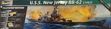 Revell 1/350 Battleship U.S.S. New Jersey (1982) Platinum Limited Edition 05129