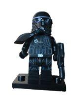 NEW Custom Imperial Death Trooper - Minifigure Star Wars for Lego Bricks - Lot