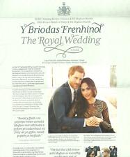 GB 2018 ROYAL WEDDING PRINCE HARRY & MEGHAN MARKLE PRESENTATION PACK MNH