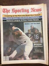 The Sporting News Magazine Aug 22 1981 Goose Gossage I Hate Hitter's Box Scores