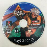 Evergrace (Sony PlayStation 2, 2000) PS2 Ever Grace Video Game Disc Only