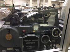 1977 Heidelberg Kord64 Grey Printing Press