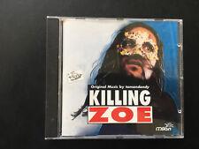 Tomandandy : Killing Zoe - Original Music By Tomandan CD