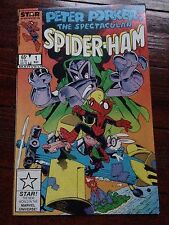 Peter Porker, The Spectacular Spider-Ham #1 May 1985 Michael Golden cover