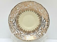 Royal Stafford SAUCERS White/Gold/Yellow Bone China England
