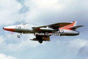 Royal Navy Hawker Hunter T.8 XE664 at RNAS Lossiemouth (1965) Photograph