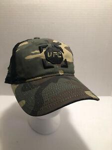 Reebok UFC Camo Baseball Cap Hat Adjustable Snapback New MMA