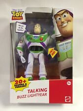 New In Dented Box Toy Story Talking Buzz Lightyear Action Figure