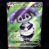 Indeedee V - SWSH Sword & Shield 192/202 - Full Art Ultra Rare Pokemon Card