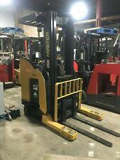 """Hyster Forklift Reach Truck 3500 203"""" Lift W/Battery & Chgr.,90"""" Tall,Hd"""