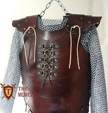 MEDIEVAL costume original Leather Vest ARMOR 4 mm Leather Armor LARP Armor multi