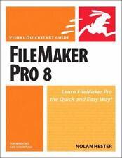 FileMaker Pro 8 for Windows & Macintosh (Visual QuickStart Guide)-ExLibrary