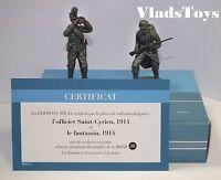 Atlas 1/24 Campaigns 1914-18 WW1 Saint-Cyrien Officer & Infantryman 2595-011