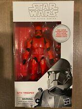 STAR WARS BLACK SERIES SITH TROOPER PREMIER EDITION FIRST DAY WHITE BOX MISB