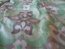 Pottery Barn Teen Garden Geo mint green gray twin duvet New without tags
