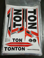TON RESERVE EDITION RED CRICKET BAT STICKER. BUY ONE GET ONE FREE LIMITED OFFER