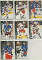 NEW YORK RANGERS ~ 2020-21 Upper Deck Series 1 Team Set ~ 8 Hockey Cards PANARIN