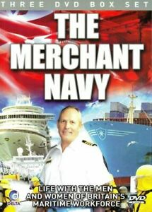 The Merchant Navy 3-Disc Dvd Brand New & Factory Sealed (2010)