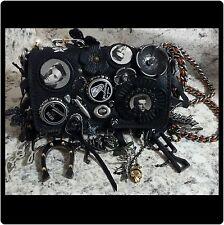 Coach 1941 Dinkier 15 Souvenir Charms Shoulder Bag, Elvis X LE BLACK $995