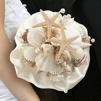 Seashell Beach Ocean Theme Wedding Bouquet