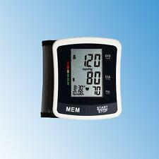 Healthcare World Wrist Blood Pressure Monitor Large Digital Display + Batteries