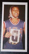 USA Female Olympic Gold Medal Sprinter   Wilma Rudolf   Photo Card   VGC
