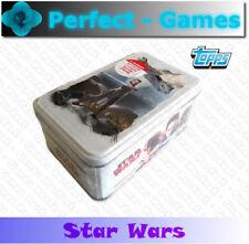 STAR WARS les derniers Jedi TOPPS Disney boîte métal 40 cartes édition limitée