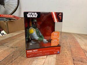 UNOPENED Star Wars Boba Fett Interactive Room Guard Statue