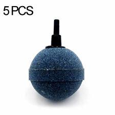 30mm Round Air Stone for Pond or Aquarium Fish Tank Pump Hydroponics 5Pcs #HZP5