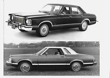 FORD USA GRANADA AND LINCOLN MERCURY MONARCH FOR UK MARKET PRESS PHOTO 1974