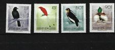 PNG SG650A/650D, 1991 BIRDS, FACE VALUES WITH 'T' MNH