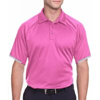 NWT Under Armour Men's Corporate Rival Polo Shirt Size M Pink 1343102