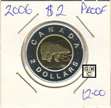 2006 Canada Proof $2 Coin (OOAK)