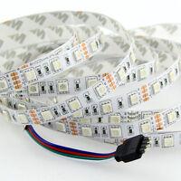 16.4ft 5050 RGB 300SMD Flexible LED Strip Light Lamp DC 12V