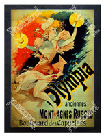 Historic Olympia Anciennes Montagnes Russes Advertising Postcard