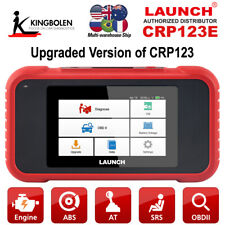 LAUNCH OBD2 Scanner CRP123E Check Engine ABS SRS Transmission Car Code Reader