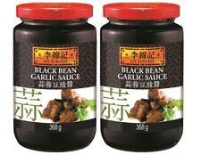 (8,14€/1kg) 2x368g LEE KUM KEE Schwarze Bohnen Knoblauch Sauce Black Bean Garlic