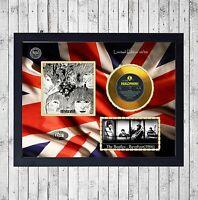 BEATLES REVOLVER CUADRO CON GOLD O PLATINUM CD EDICION LIMITADA. FRAMED