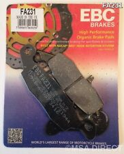 Kawasaki VN800 Drifter (1999 to 2004) EBC Organic REAR Brake Pads (FA231) 1 Set