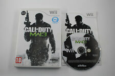 NINTENDO WII CALL OF DUTY MODERN WARFARE 3  COMPLETO  PAL ESP
