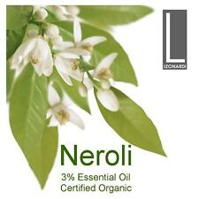 Neroli 3 Pure Essential Oil Certified Organic 10ml Aromatherapy Grade